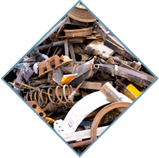 Picture-link to section buying and selling ferrous scrap and waste