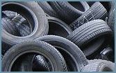 Description of the activities in regard to collection of discarded waste tires / tyres