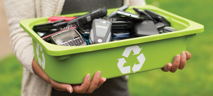 Recycling of mobile phones | NORD Holding AD