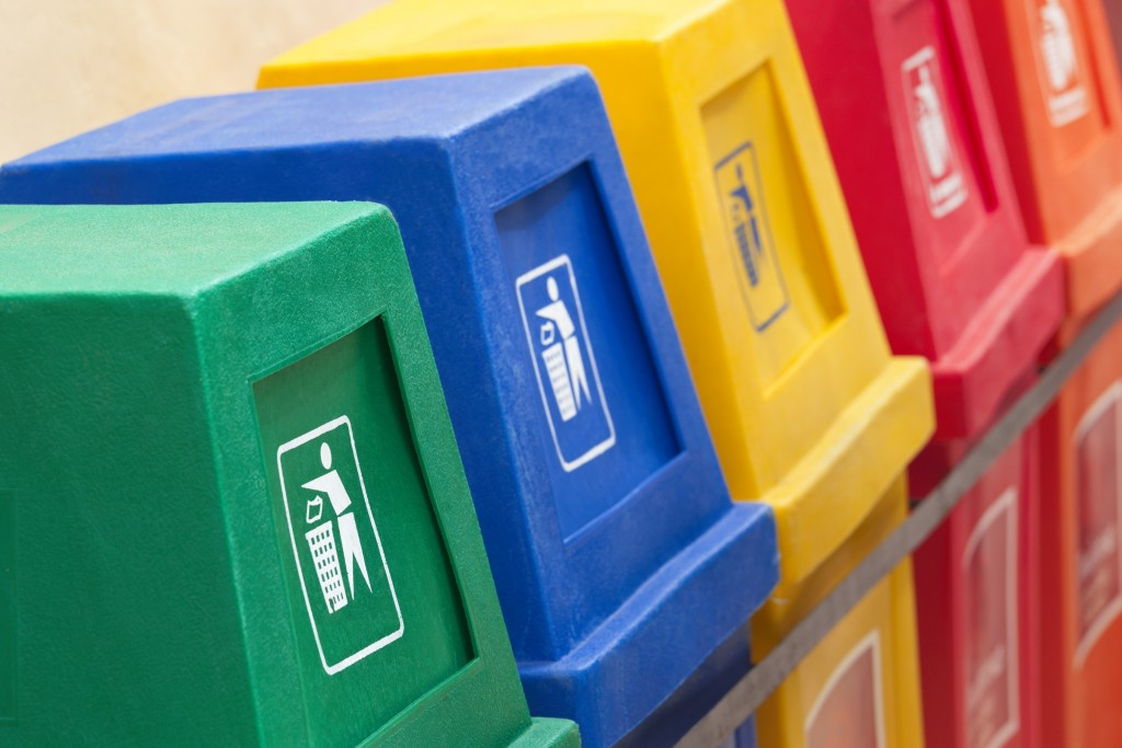 Recycle bins for different types | NORD Holding AD