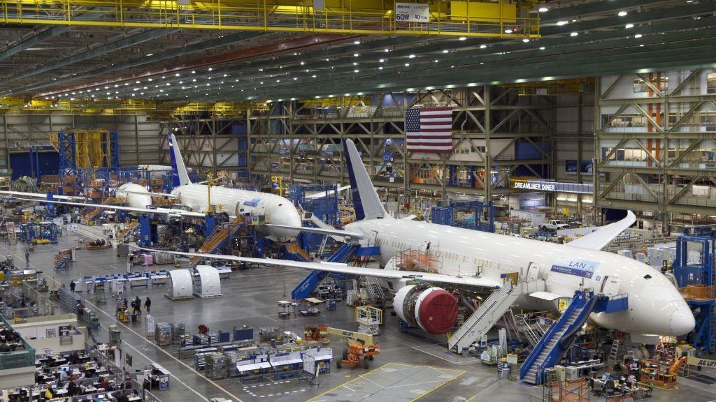 Самолетостроене - сглобяване на Боинг | НОРД Холдинг АД
