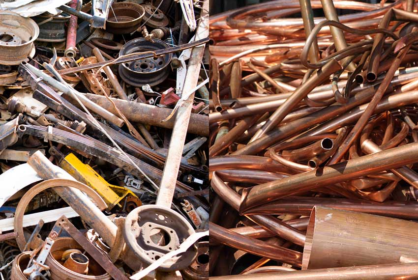Scrap from metals | NORD Holding AD