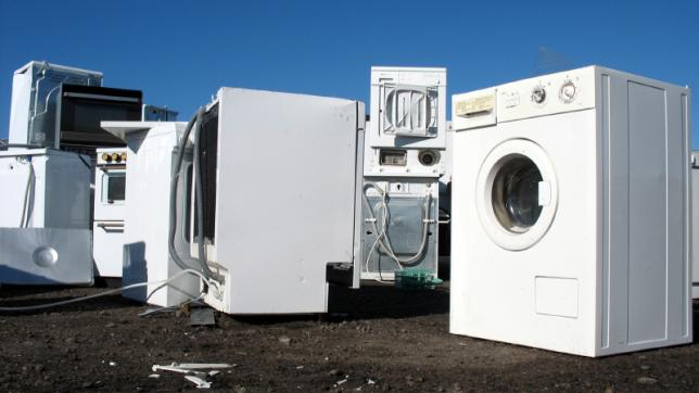 Recycling of washing machines and the environment