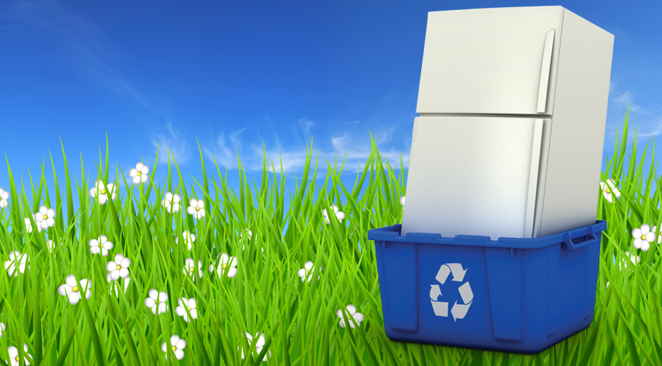 Recycling of refrigerators and the environment