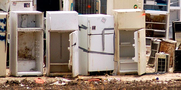 Old refrigerators | Nord Holding