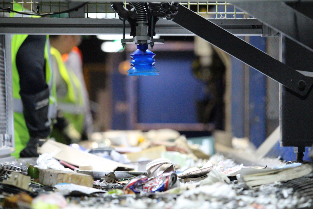 AI in the recycling process | NORD Holding AD