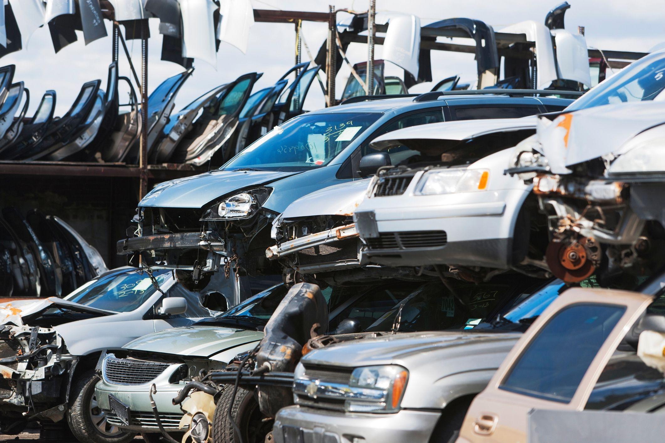 Рециклиране на автомобилни части