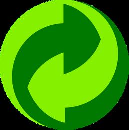 Символ зелена точка