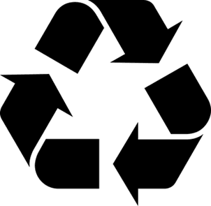 SYMBOLS FOR IDENTIFICATION OF THE RECYCLING PROCESS