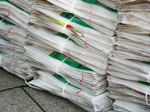 Поява на рециклиране на хартия