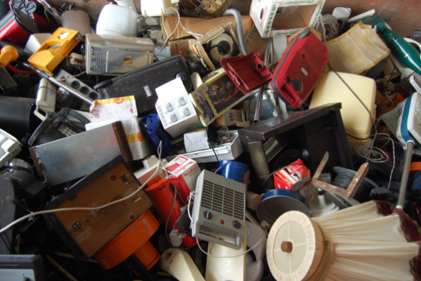Recycling of household appliances